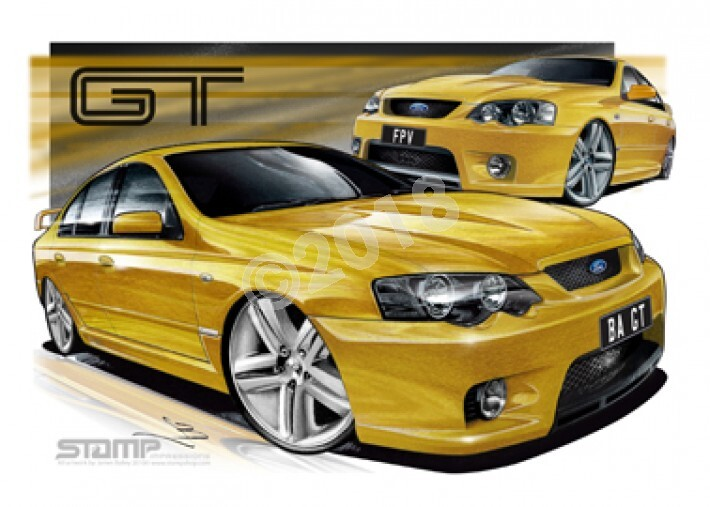 FPV BA GT BA GT ACID RUSH A1 STRETCHED CANVAS (FV001X)