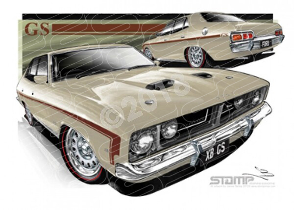 Classics XB GS XB 500 FALCON GS MUSHROOM BEIGE A1 STRETCHED CANVAS (FT308)